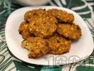 Рецепта Бързи и лесни печени безмесни кюфтета от елда, сирене, яйце и копър на фурна